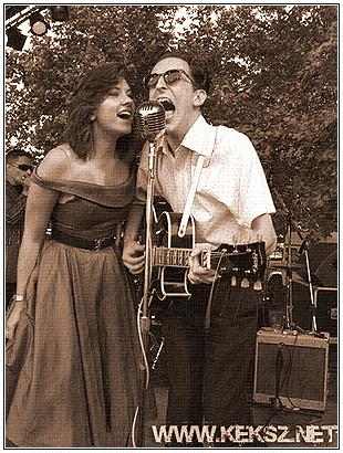 Sophie & Sonny singin' a duet