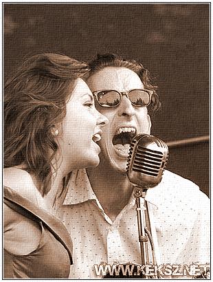 Sophie & Sonny singin' together